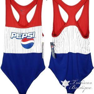 Pepsi Women's Logo One Piece Swimsuit